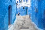 FEATURE -  Blaue Perle Nordafrikas: Chefchaouen im nordmarokkanischen Rif Gebirge