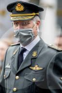ROYALS - König Philippe von Belgien an der Militärparade seiner Tochter Prinzessin Elisabeth