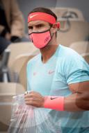 SPORT - Tennis: Rafael Nadal gewinnt Erstrundenspiel in Paris