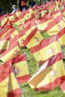 NEWS - Coronavirus: Mehr als 50'000 Flaggen für die spanischen Opfer des Coronavirus in Madrid