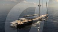 FEATURE - 100m hoher Mast: Grösste Segel-Superyacht der Welt vorgestellt
