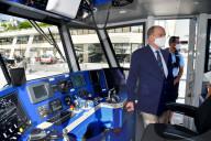 ROYALS - Albert II. von Monaco an Bord des neuen Schiffs Vitamar III