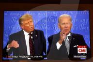NEWS - USA: Trump und Biden in der ersten Präsidentschaftsdebatte