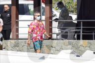 PEOPLE - Robbie Williams muss mit seiner Familie auf St. Barts in Quarantäne nach positivem Covid-19-Test