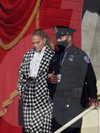 PEOPLE -  Jennifer Lopez singt bei der Probe für die Amtseinführung von Joe Biden