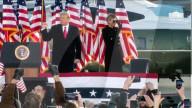NEWS - USA: Abschiedsrede von Donald Trump auf der Joint Base Andrews