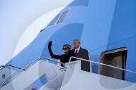 NEWS - USA:  Präsident Trump reist vor der Vereidigung von Joe Biden ab