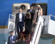 NEWS - USA: Weit weg - Ex-Präsident Trump landet mit seinem Clan in Florida