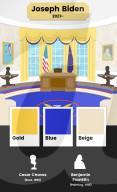 FEATURE - Wie die letzten US-Präsidenten das Oval Office farblich gestalten liessen