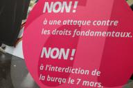 NEWS - Bern: Protest gegen Burka-Verbotsinitiative