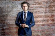 PORTRAIT - Jesse Klaver, Vorsitzender von GroenLinks, Holland
