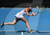 SPORT - Tennis: Belinda Bencic in Melbourne eine Runde weiter