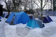 NEWS - Zelte im Hamburger Schanzenpark: Eine private Initiative hilft den Menschen ohne Unterkunft