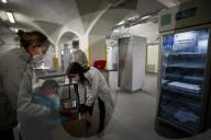 NEWS - Coronavirus: Neue Impfdosen von AstraZeneca treffen in der Impfzentrale in Rom ein