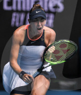 SPORT - Tennis: Belinda Bencic gewinnt zweites Spiel in Melbourne