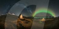 FEATURE -  Fantastisches Astrofoto: Grosser Wagen sowie Mars und die Andromeda-Galaxie am Nachthimmel über den Lofoten