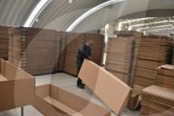 NEWS - Coronavirus: Produktion von Kartonsärgen in Mexico