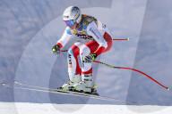 SPORT - Ski Alpin: Corinne Suter siegt in der WM-Abfahrt von Cortina
