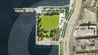 FEATURE - Manhattan soll einen öffentlichen Strand bekommen - gelegen auf einer künstlichen Halbinsel