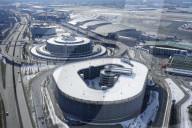 NEWS - Luftaufnahmen des Helmut Schmidt Flughafens in Hamburg: Während normalem Flugbetrieb unmöglich