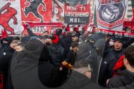 NEWS - Die Ultra-Milan-Fans vor dem Derby am Sonntag