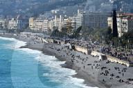 NEWS - Coronavirus: Sonntag an der Baie de Anges in Nizza