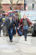 PEOPLE - Steve Martin und Martin Short stehen für 'Only Murders in the Building' wieder zusammen  vor der Kamera