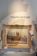 NEWS - Ein echter Van Gogh: Sotheby's Paris versteigert das Gemälde Scene de rue a Montmartre aus dem Jahr 1887