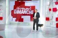 """PEOPLE -  Aufzeichnung der Sendung """"Vivement dimanche"""",  präsentiert von Michel Drucker"""