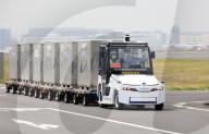 NEWS - Feldversuch mit autonomen Fahrzeugen auf dem Flughafen Haneda