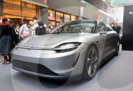 NEWS - Sony zeigt Prototypen des Elektrofahrzeugs Vision-S