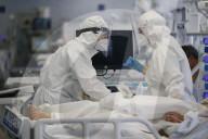 NEWS - Coronavirus: Die Intensivstationen der Krankenhäuser in Rom sind bereits vor Ostern voll