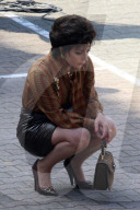 """PEOPLE - Lady Gaga und Jack Houston bei den Dreharbeiten zu """"House of Gucci"""""""