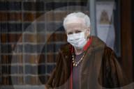 ROYALS - Königin Margrethe besucht den Ostergottesdienst in Aarhus