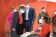 NEWS - Coronavirus: Das Impfzentrum der Bundeswehr startet den Rund-um-die-Uhr-Impfbetrieb in Lebach