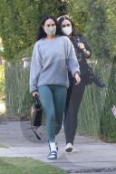 PEOPLE - Demi Moore und Tochter Rumer Willis gehen zu einer morgendlichen Pilates-Session in Los Angeles
