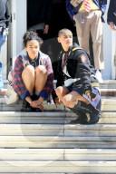 """PEOPLE -  Dreharbeiten in New York für """"Gossip Girl"""""""
