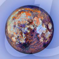 FEATURE - Mondtextur: Astrofotograf Andrew McCarthy zeigt die Mondoberfläche in umgekehrten Farben
