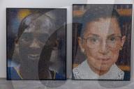 FEATURE - Bradley Hart injiziert Acrylfarbe mit Spritzen in Luftpolsterfolie und erschafft damit Alltagsmaterial in Kunstwerke