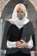 ROYALS - Camilla, Herzogin von Cornwall, besucht die Wightman Road Moschee in London