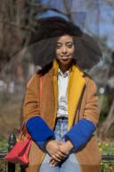 FEATURE - Da passt kein Hut: Simone Williams hält den Guinness-Weltrekord für den größten Afro der Welt