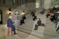 NEWS - Bundespräsident Steinmeier spricht zu Studenten der Universität während der Pandemie