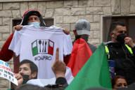 NEWS - Coronavirus:  Demonstration von Händlern, Ladenbesitzern und Gastronomen in Rom
