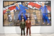 """NEWS - Ausstellung von Gilbert & George """"New Normal Pictures""""  im White Cube, London"""