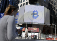 NEWS -  Börsengang von Coinbase Global an der Nasdaq, New York