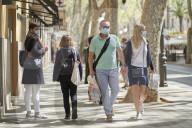 NEWS - Coronavirus: Touristen auf Mallorca
