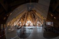 NEWS - Paris: Präsident Macron besucht den Wiederaufbau der Notre-Dame