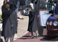 ROYALS - Beerdigung von Prinz Philip: Queen Elizabeth trifft ein
