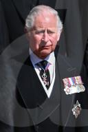 ROYALS - Beerdigung von Prinz Philip: Prinz Charles mit Tränen in den Augen