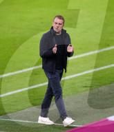 SPORT - Trainer Hansi Flick beim Spiel Bayern München gegen Leverkusen